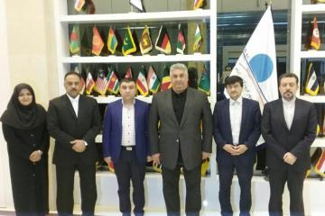 Azad Rahimov pays a visit to Iran