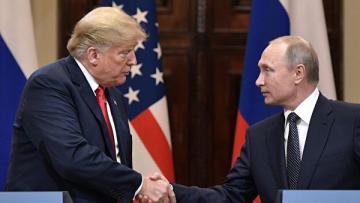 Вашингтон запросил встречу Путина и Трампа