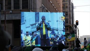 South Africa's ruling ANC celebrates election victory