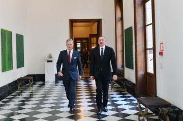 Ильхам Алиев встретился с королем Бельгии