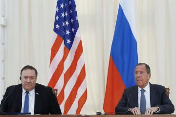 Лавров сообщил, что договорился с Помпео о шагах по нормализации отношений между РФ и США