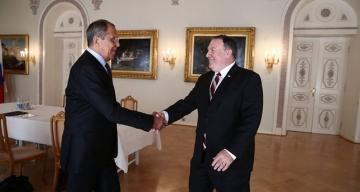 Pompeo arrives in Sochi for talks with Lavrov