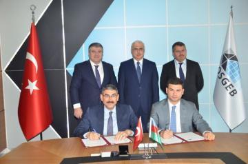 KOBİA və KOSGEB arasında əməkdaşlığa dair anlaşma memorandumu imzalanıb