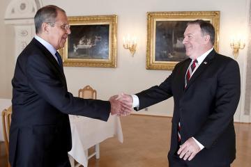В Сочи начались переговоры Лаврова и Помпео