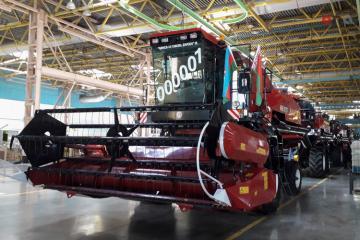 На Гянджинском автомобильном заводе состоялось открытие двух новых сборочных линий