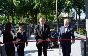 President Ilham Aliyev attends opening of new building of Azerbaijan's Embassy in Belgium - [color=red]UPDATED[/color]