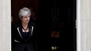 PM May receives NATO chief in London meeting