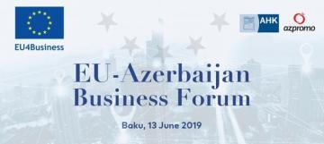 В Баку пройдет 5-й бизнес-форум ЕС-Азербайджан