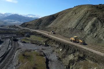 Quba-Qonaqkənd yolu yenidən qurulur