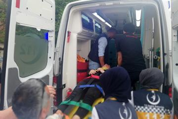 İstanbulda avtoxuliqan 7 şagirdi maşınla vurub