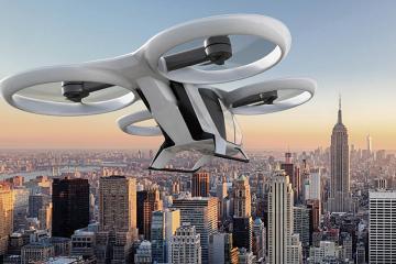 Airbus намерен запустить в Париже летающий транспорт