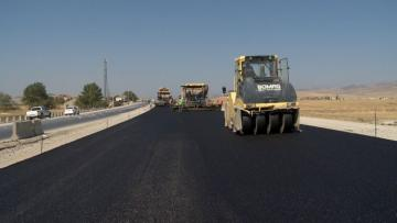 Bakı-Şamaxı avtomobil yolu genişləndirilir