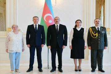 Президент Ильхам Алиев принял верительные грамоты новоназначенного посла Украины в Азербайджане