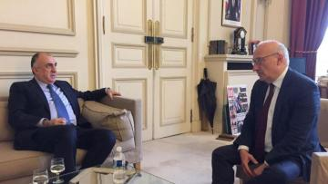 Elmar Məmmədyarov Fransa Prezidentinin müşaviri ilə görüşüb