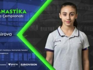 Первая азербайджанка в финале чемпионата Европы