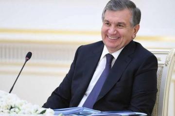 Президент Узбекистана поздравил президента Азербайджана