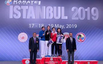 Azərbaycan karateçisi Seriya A-da gümüş medal qazanıb
