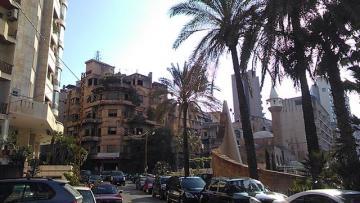 Полиция применила водометы против демонстрантов в Бейруте