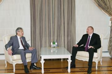 Президент Азербайджана принял президента Российской Академии Наук - [color=red]ОБНОВЛЕНО[/color]
