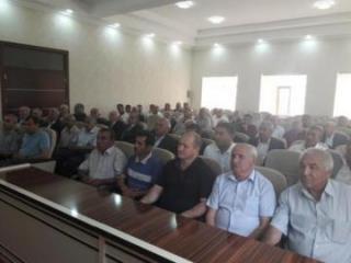 Goranboyda polis veteranları ilə görüş keçirilib