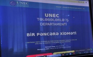 """UNEC """"Bir pəncərə"""" sistemini tətbiq edəcək"""