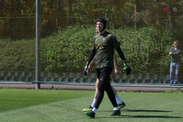 Arsenal FC holds open training session before Baku visit - [color=red]EXCLUSIVE[/color] - [color=red]VIDEO[/color]