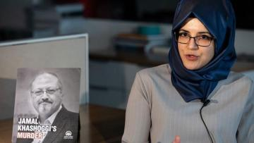 """Fiancée of Jamal Khashoggi: """"There might have been a little bit more reaction if it was someone else but Trump at the presidency"""""""