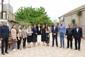 Первый вице-президент Мехрибан Алиева посетила поселок Кюрдаханы