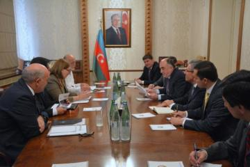 Azerbaijani FM received heads of diplomatic missions of several countries