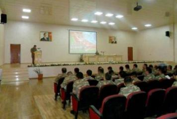 A seminar with the deputy commanders held in the Army Corps