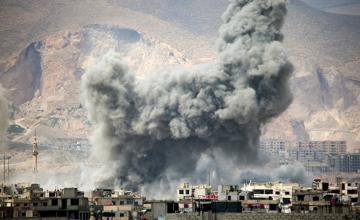 Российская авиабаза в Сирии подверглась ракетному обстрелу