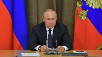 Putinin fransalı və almaniyalı həmkarları ilə telefon danışığı olub