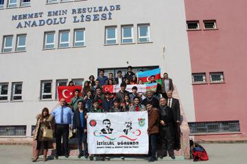 Ankarada Rəsulzadənin adını daşıyan litseydə onun bir portreti belə yoxdur  - [color=red]REPORTAJ[/color]