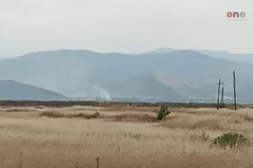 Армяне совершили поджоги на оккупированных азербайджанских землях