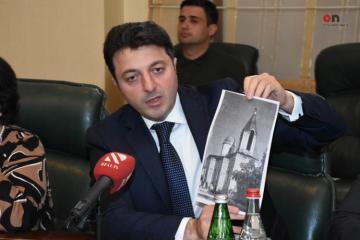 """Tural Gəncəliyev: """"Ermənilər Şuşadakı rus-pravoslav kilsəsini erməni kilsəsinə çeviriblər"""""""
