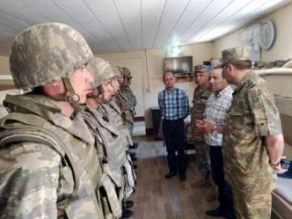 Ombudsman's Office representatives visited  military unit in frontline zone