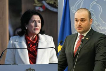 Georgian President and PM welcome the renewal of delimitation process of borders with Azerbaijan - [color=red]UPDATED[/color]