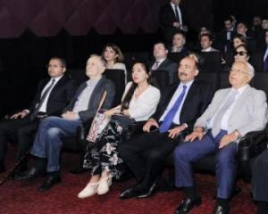 "Vice-President of Heydar Aliyev Foundation attends the presentation of ""My little prince"" animated film at Nizami Cinema Center"