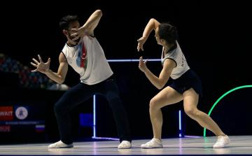 Bakıda aerobika gimnastikası üzrə Avropa çempionatının açılış mərasimi olub