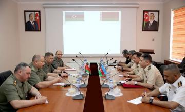Прошла  встреча по сотрудничеству в области военной инспекции между Азербайджаном и Беларусью