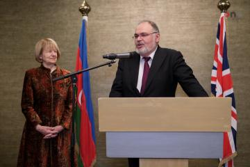 Official reception on Azerbaijani National Day held in London
