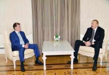 Azerbaijani President receives Russian minister of labour and social protection