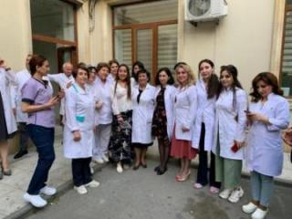 Vice-President of Heydar Aliyev Foundation visits Scientific Research Institute of Hematology and Transfusion