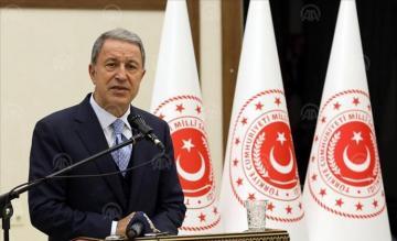 Turkey fulfill domestic, NATO duties: Defense chief