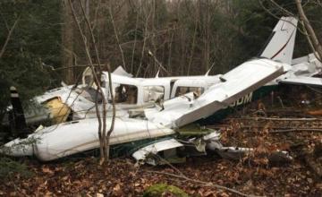 В Канаде разбился небольшой самолет