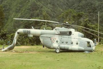 Meksikada 7 nəfərin olduğu Mi-17 helikopteri qəzaya uğrayıb