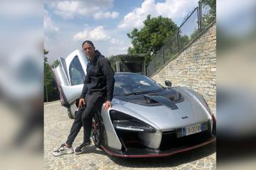 """Ronaldu 850 min avroluq yeni """"McLaren Senna"""" super avtomobilini nümayiş etdirib"""