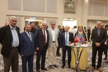 28 May Respublika günü və Azərbaycan XIN-in 100 illiyi İstanbulda qeyd olunub