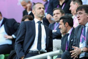 UEFA prezidenti Avropa Liqasının Bakıda keçiriləcək finalı ilə bağlı söz-söhbətlərə son qoyub