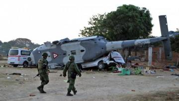 Mexican military helicopter crashes, killing five crew
